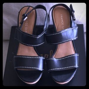 NWOT Franco Sarto Wedge Sandals